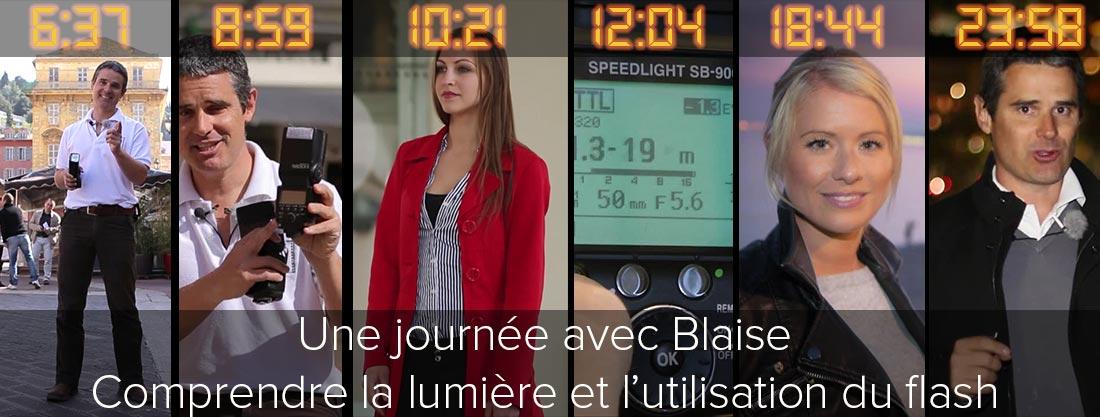 Une journee avec Blaise - Comprendre la lumiere et l'utilisation du flash